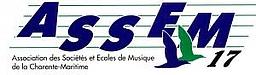 Logo Association des Sociétés et Ecoles de Musique de Charente-Maritime