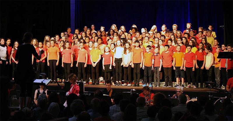 Chorale du lycée Georges Texier de Saint-Jean d'Angély